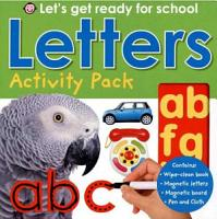 Early Learning Activity Pack   Letters PDF