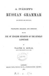A  Iv  noff s Russian Grammar  16th Ed  145th Thousand  PDF