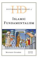 Historical Dictionary of Islamic Fundamentalism PDF