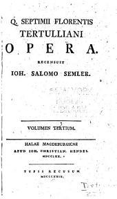 Opera: Volumes 3-4