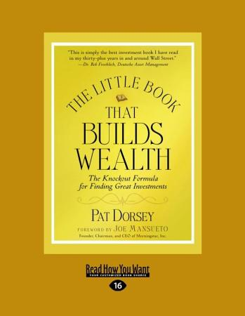 The Little Book That Builds Wealth  Large Print 16pt  PDF
