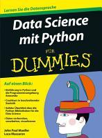 Data Science mit Python f  r Dummies PDF