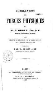 Corrélation des forces physiques