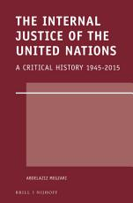 The Internal Justice of the United Nations PDF