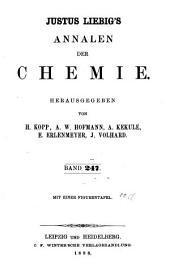 Justus Liebigs Annalen der Chemie: Bände 247-248
