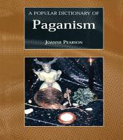 A Popular Dictionary of Paganism PDF
