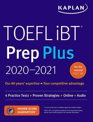 TOEFL iBT Prep Plus 2020 2021 PDF