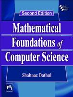 MATHEMATICAL FOUNDATIONS OF COMPUTER SCIENCE  Second Edition PDF