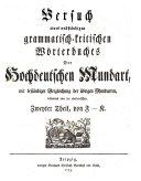Woerterbuch Der Deutschen Sprache Veranstaltet Herausgegeben Von Joachim Heinrich Campe Erster Funfter Und Lezter Theil