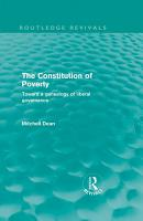 The Constitution of Poverty  Routledge Revivals  PDF
