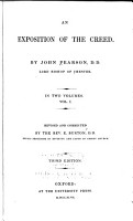 Exposition of the Creed     rev  and cor  by E  Burton     3d ed  1847 PDF