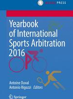 Yearbook of International Sports Arbitration 2016