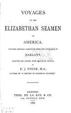 Voyages of the Elizabethan Seamen to America PDF