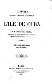 Ornithologie [of Cuba].