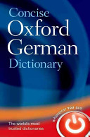 Concise Oxford German Dictionary PDF
