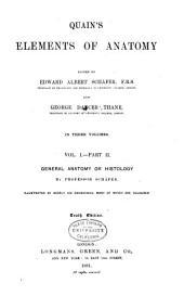 Quain's Elements of Anatomy: Volume 1, Issue 2