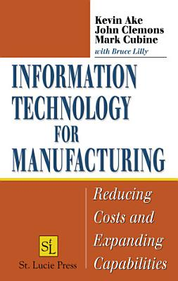 Information Technology for Manufacturing PDF