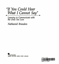 If You Could Hear What I Cannot Say  Book PDF