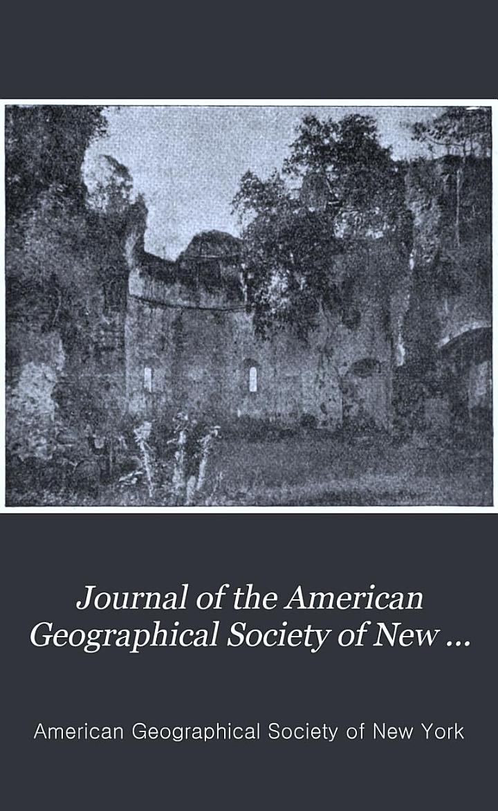 Journal of the American Geographical Society of New York