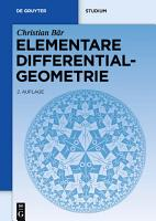 Elementare Differentialgeometrie PDF