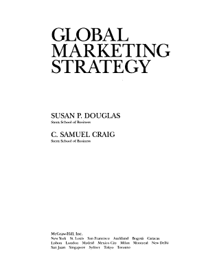 Global Marketing Strategy PDF