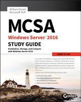 MCSA Windows Server 2016 Study Guide  Exam 70 740 PDF