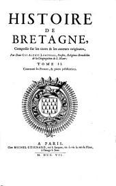 Histoire de Bretagene: Volume2