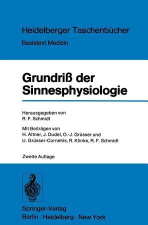 Grundri   der Sinnesphysiologie PDF