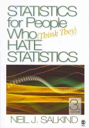 Statistics For People Who Think They Hate Statistics 3rd Ed Using Spss For Social Statistics And Research Methods 2nd Ed Book PDF