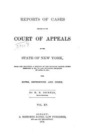 Reports of Cases Decided in the Court of Appeals of the State of New York: Volume 60