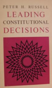 Leading Constitutional Decisions