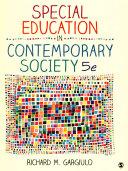 Bundle Gargiulo Special Education In Contemporary Society 5e Bouck Assistive Technology Book PDF