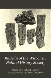 Bulletin of the Wisconsin Natural History Society: Volumes 1-3