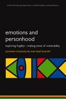 Emotions and Personhood PDF