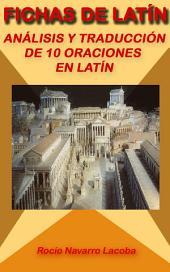 Análisis y traducción de 10 oraciones en latín