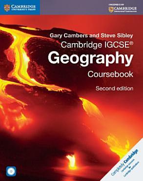 Cambridge IGCSE   Geography Coursebook with CD ROM PDF