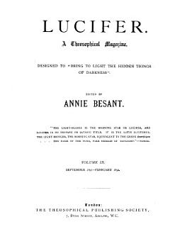 Theosophical Review Book