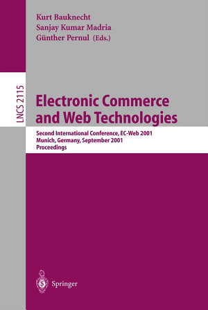 Electronic Commerce and Web Technologies