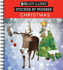 Brain Games Sticker by Number Christmas PDF