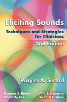 Eliciting Sounds  Techniques and Strategies for Clinicians PDF