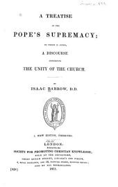 A Treatise of the Pope's Supremacy
