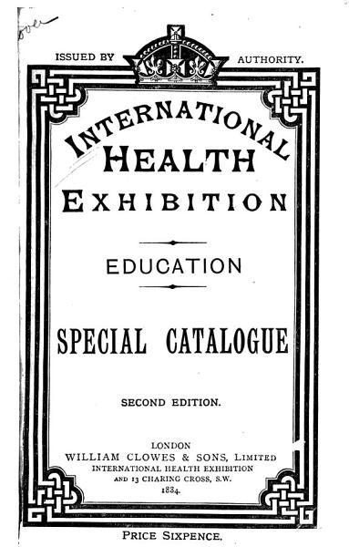 Special Catalogue of the Education Division