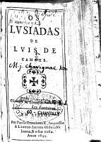 Os lusiadas de Luis de Cam  es PDF