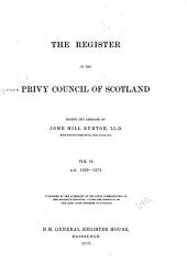 The Register of the Privy Council of Scotland: Volume 2