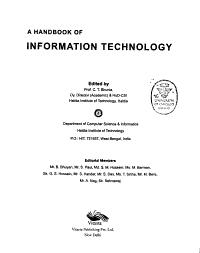 A Handbook of Information Technology PDF