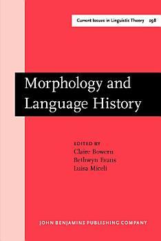 Morphology and Language History PDF