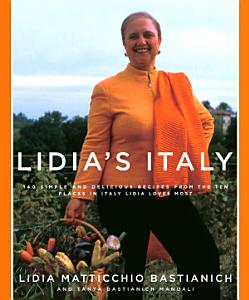 Lidia s Italy Book