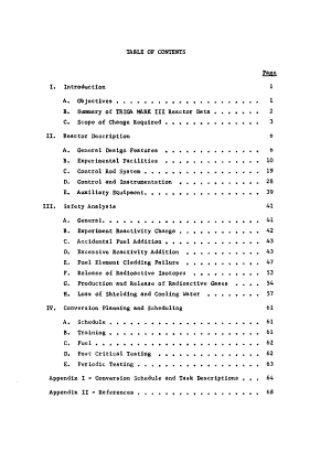 Design Manual and Safety Analysis for the Penn State Triga Reactor