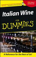 Italian Wine For Dummies PDF