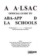 ABA-LSAC Official Guide to ABA-Approved Law Schools 2004